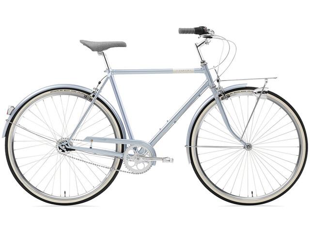 Creme Caferacer Solo - Bicicleta urbana hombre- gris tiburón